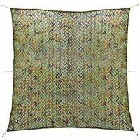 vidaXL Plasă de camuflaj cu geantă de depozitare 6x6 m