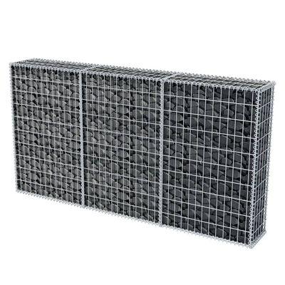 vidaXL Coș gabion, 200 x 30 x 100 cm, oțel galvanizat