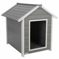 Kerbl ECO Cușcă pentru câini Hendry, gri și alb, 88 x 98 x 101 cm