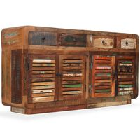 vidaXL Servantă, 150 x 35 x 75 cm, lemn masiv reciclat