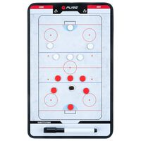 Pure2Improve Planșă tactică antrenor de hochei pe gheață 35 x 22 cm