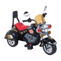 Motoreta Electrica Pentru Copii Cu 3 Roti 6v, Negru