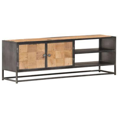 vidaXL Comodă TV, 120 x 30 x 40 cm, lemn masiv reciclat