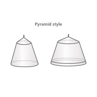 Travelsafe Plasă de țânțari model piramidă 2 persoane
