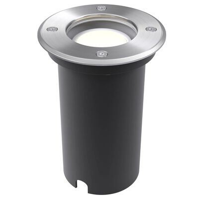 vidaXL Corpuri de iluminat cu LED de exterior sol, 3 buc, rotund