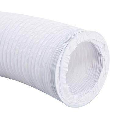 vidaXL Conductă de evacuare, 6 m, 12,5 cm, PVC