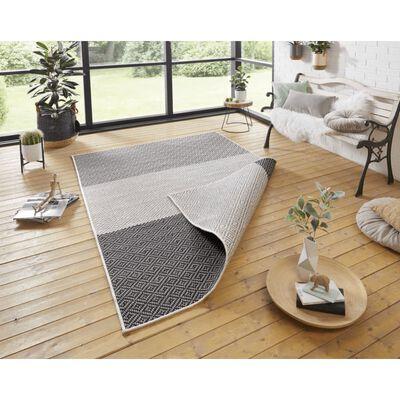 Covor Hanse Home Reversibil Modern Twin Supreme, Antracit, 160x230
