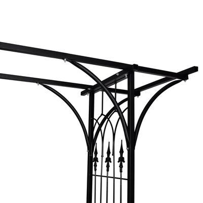 vidaXL Pergolă de grădină, 200 x 52 x 204 cm