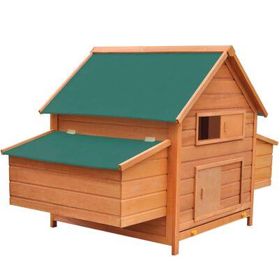vidaXL Coteț pentru păsări, 157 x 97 x 110 cm, lemn