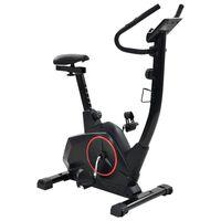 vidaXL Bicicletă de fitness magnetică cu măsurare puls XL