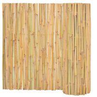 vidaXL Gard din bambus, 300 x 100 cm