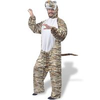 vidaXL Costum de tigru pentru carnaval M-L
