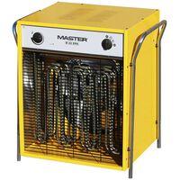 Master radiator electric cu ventilator, 2400 m³/h, B22EPB