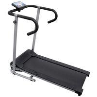 vidaXL Bandă de alergare electrică cu afișaj LCD 8 cm 100x34 cm 500 W