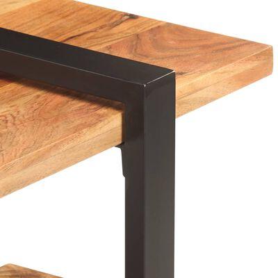 vidaXL Comodă TV, 160 x 40 x 40 cm, lemn masiv de acacia