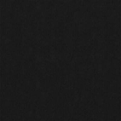 vidaXL Paravan de balcon, negru, 75 x 500 cm, țesătură oxford