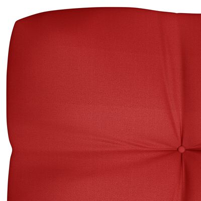 vidaXL Pernă pentru canapea de grădină, roșu, 120x40x12 cm, textil