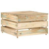 vidaXL Masă de grădină din paleți, lemn de pin tratat