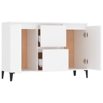 vidaXL Servantă, alb, 104x35x70 cm, PAL