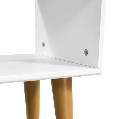 vidaXL Noptieră din lemn masiv de acacia, 40 x 30 x 45 cm