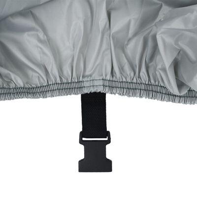 vidaXL Husă pentru barcă, gri, 605x289 cm