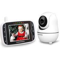 Baby Monitor Wireless Hello Baby Cu Ecran De 3.2, Zoom, Nightvision