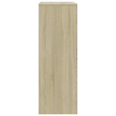 vidaXL Servantă cu 6 sertare, stejar Sonoma, 50 x 34 x 96 cm, PAL
