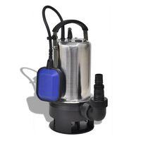 vidaXL Pompă submersibilă pentru apă murdară, 1100 W, 16500 L/h