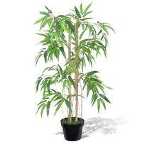 """Plantă artificială de bambus """"Twiggy"""" cu ghiveci 90 cm"""