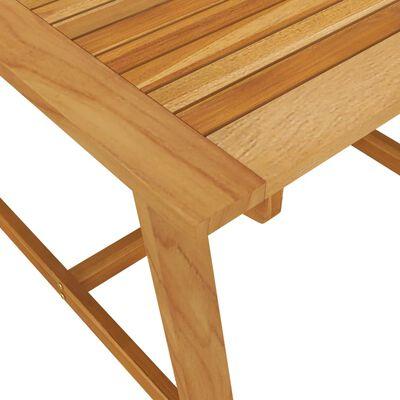 vidaXL Set de masă pentru grădină, 3 piese, maro