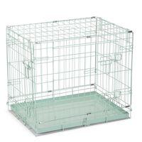 Beeztees Cușcă de câine, verde, 62 x 44 x 49 cm