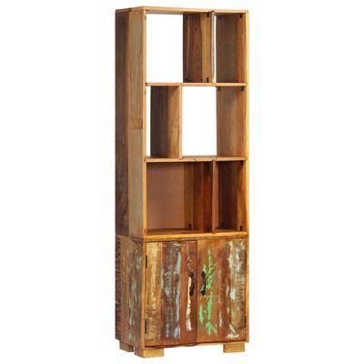 vidaXL Bibliotecă, 60 x 35 x 180 cm, lemn masiv reciclat