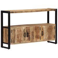 vidaXL Dulap lateral, 120 x 30 x 75 cm, lemn masiv de mango