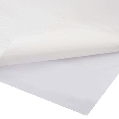 vidaXL Folie auto mașină 4D, alb mat, 500 x 152 cm
