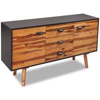 vidaXL Bufet din lemn masiv de acacia, 115 x 35 x 70 cm