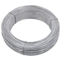 vidaXL Fir de tensionare pentru gard, 250 m, 1,4 mm, oțel