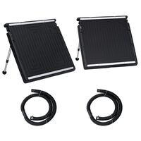 vidaXL Panou solar de încălzire dublu pentru piscină, 150x75 cm