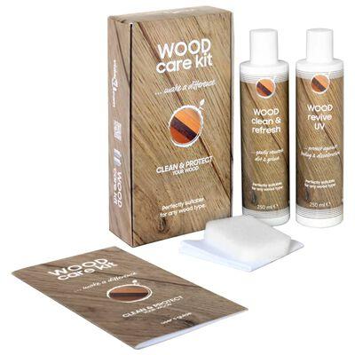 Set de îngrijire a lemnului, CARE KIT, 2 x 250 ml
