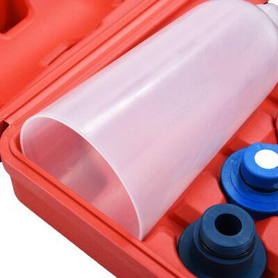 vidaXL Set cu pâlnie pentru înlocuire ulei de motor, 16 piese