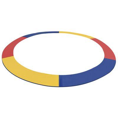 vidaXL Bandă de siguranță trambulină rotundă de 4,26 m multicolor PVC, Multicolour