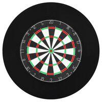vidaXL Bordură țintă darts profesională, EVA