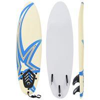 vidaXL Placă de surf, 170 cm, model stea