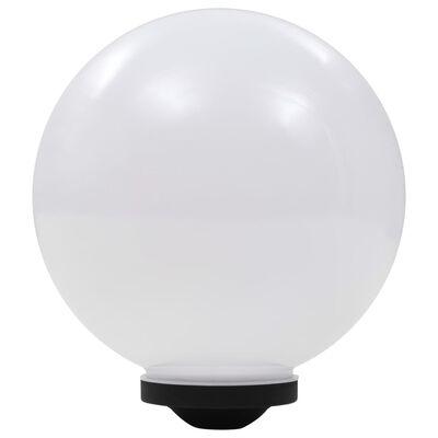 vidaXL Lămpi solare de exterior cu LED, 2 buc, 30 cm, RGB, sferic