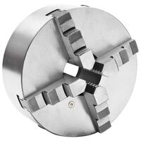 vidaXL Mandrină de strung cu 4 fălci, 200 mm, oțel