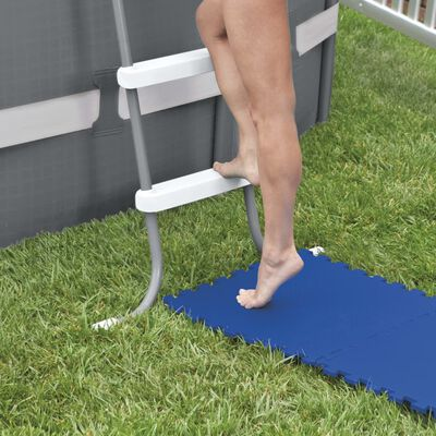 Intex Protecții de podea piscină, 8 buc., albastru, 50 x 50 cm