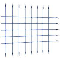 vidaXL Plasă de cățărat, albastru, 200x150 cm