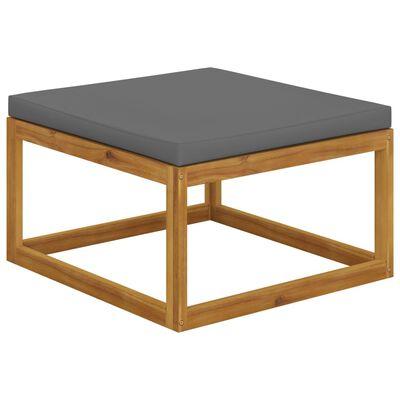 vidaXL Set mobilier de grădină cu perne, 5 piese, lemn masiv acacia