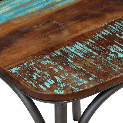vidaXL Scaune de bucătărie, 4 buc., lemn masiv reciclat