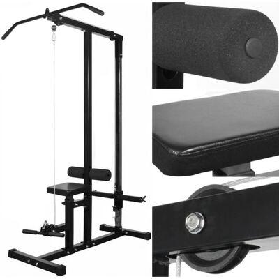 vidaXL Aparat fitness multifuncțional fără greutăți