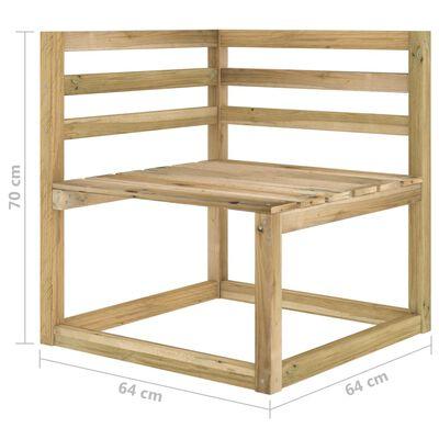 vidaXL Set mobilier de grădină, 3 piese, cu perne negre